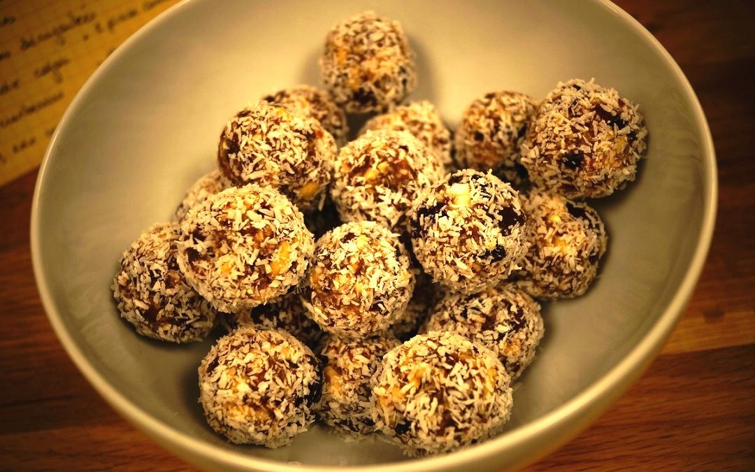 Energy balls Dattes et cranberries